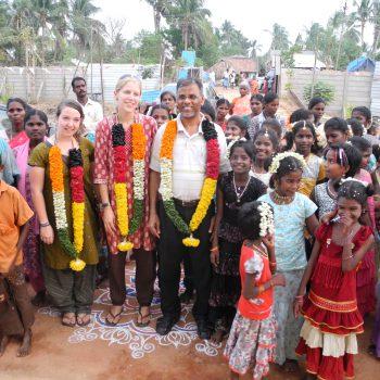 Isabell in Indien Karunai