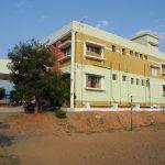 Das Waisenhaus in Karunai in Indien Rückseite